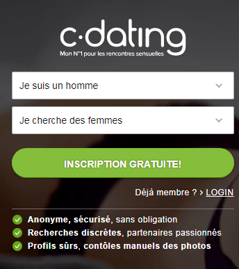 Casual Dating inscription